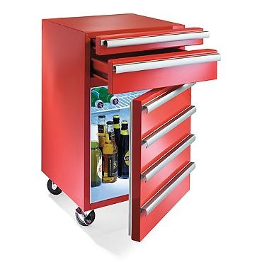 The Toolbox Fridge Is More Fun Than Work 187 Coolest Gadgets