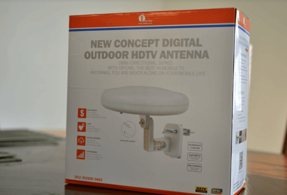 1ByOne Outdoor TV Antenna – New Concept packaging