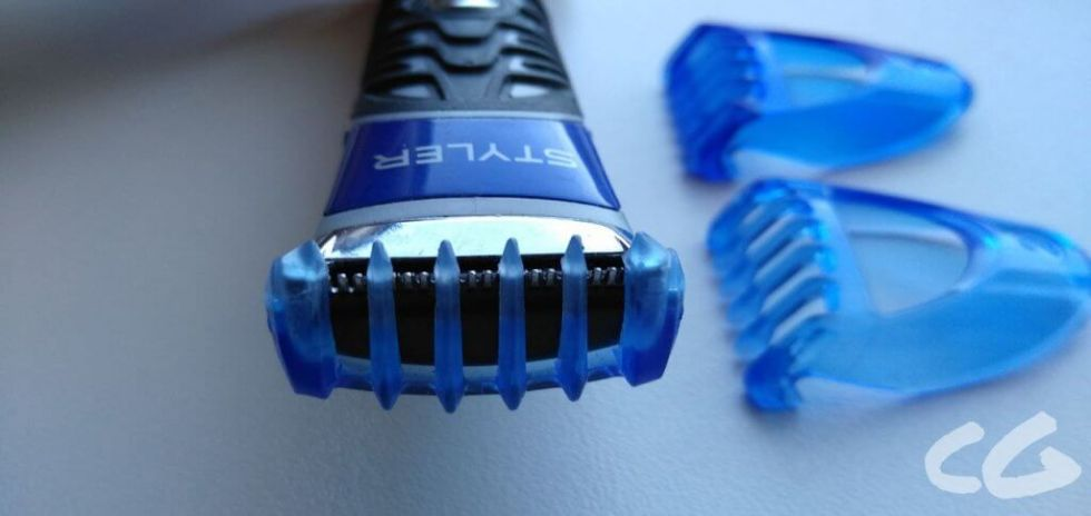 Gillette Fusion ProGlide 3-in-1 close up of guards