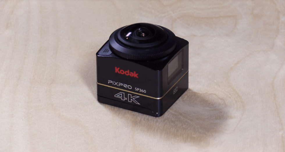 Kodak PixPro SP360 4K On table