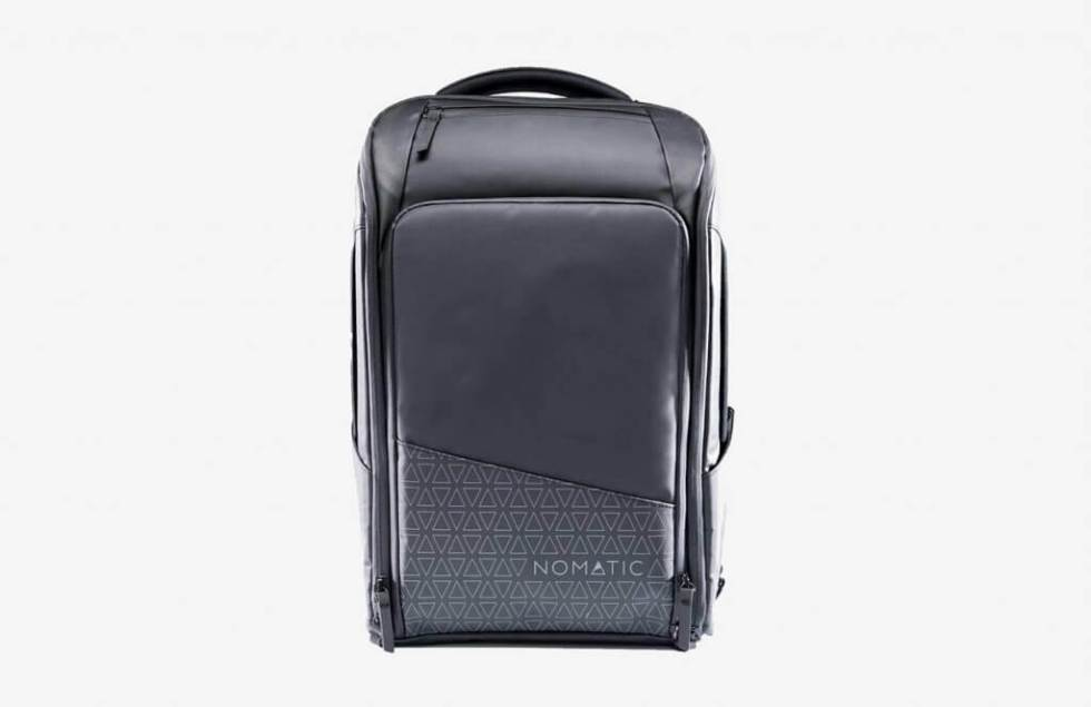 NOMATIC Backpack Slim Black Water-Resistant Anti-Theft 20L Laptop Bag