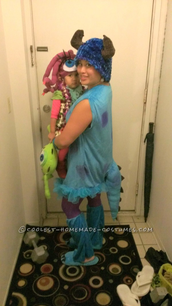 Coolest Celia Boo And Sully Costumes Mom Daughter