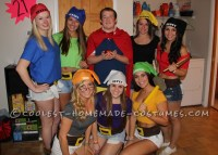 Creative Snow White and His 7 Dwarfs Group Costume