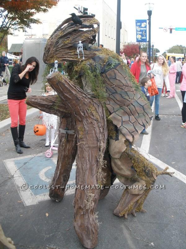 Cool Walking Tree Costume Stilts