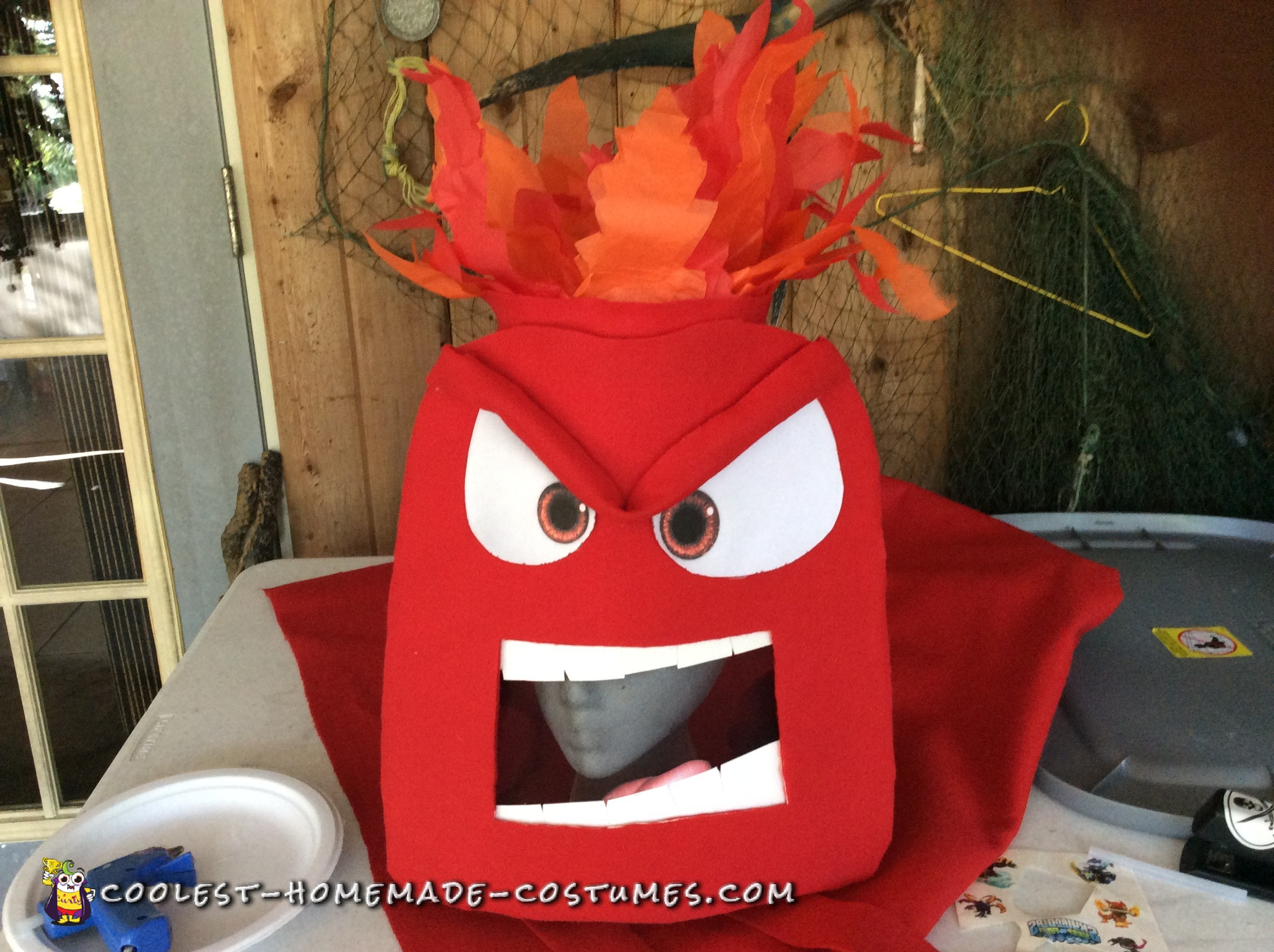 Coolest Anger Form Inside Out Costume