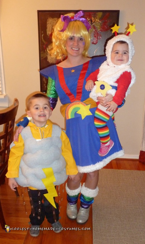 80s Throwback Costumes Rainbow Brite Twink And