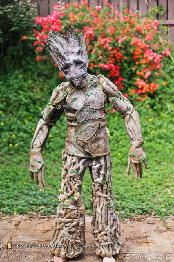 Awesome Groot Costume In Two Days