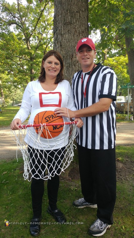 Image result for Basketball hoop costume