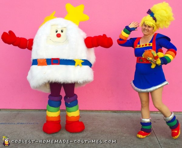 Awesome Diy Rainbow Brite And Sprite Costumes