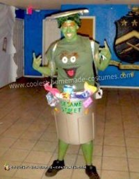Coolest Homemade Oscar the Grouch Costume