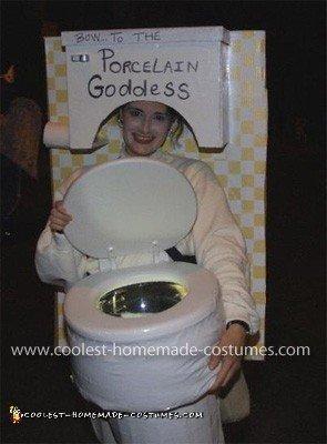 Porcelain Goddess Toilet
