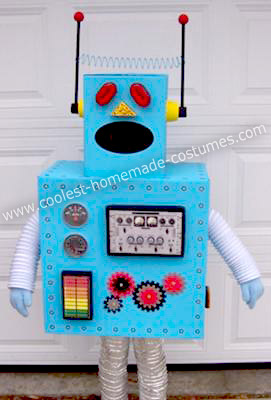 Homemade Toy Robot Costume