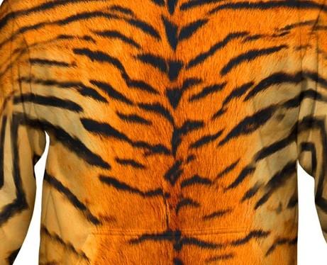 Tiger Skin Hoodie