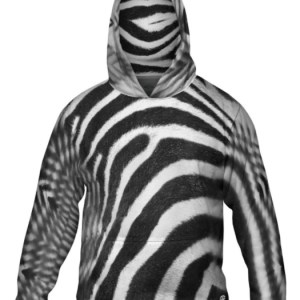 Zebra Skin Hoodie Design