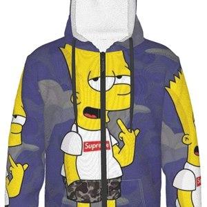 Bart Simpson Hoodie for boys