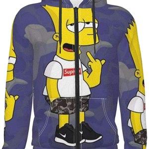 Bart Simpson Hoodie