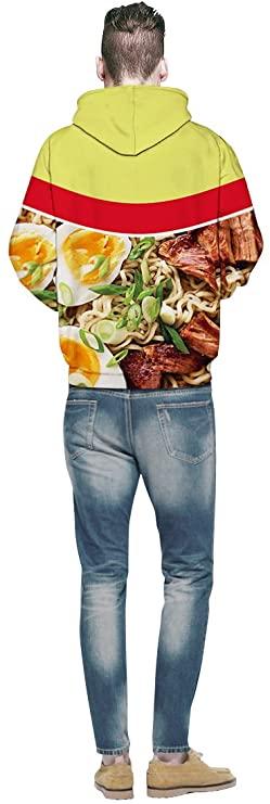 Beef Ramen Noodle Hoodie Women