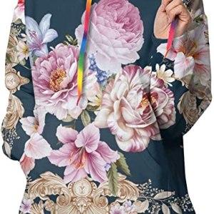 Floral Hoodie Design