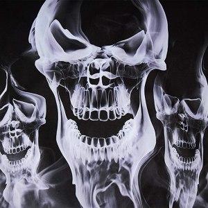 Black Skull hoodie for men