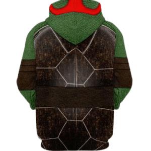 Raphael hoodie TMNT in Red