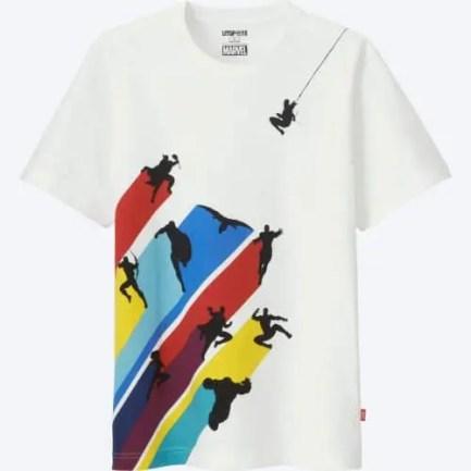 Uniqlo Marvel t-shirt, 14,95 euro.