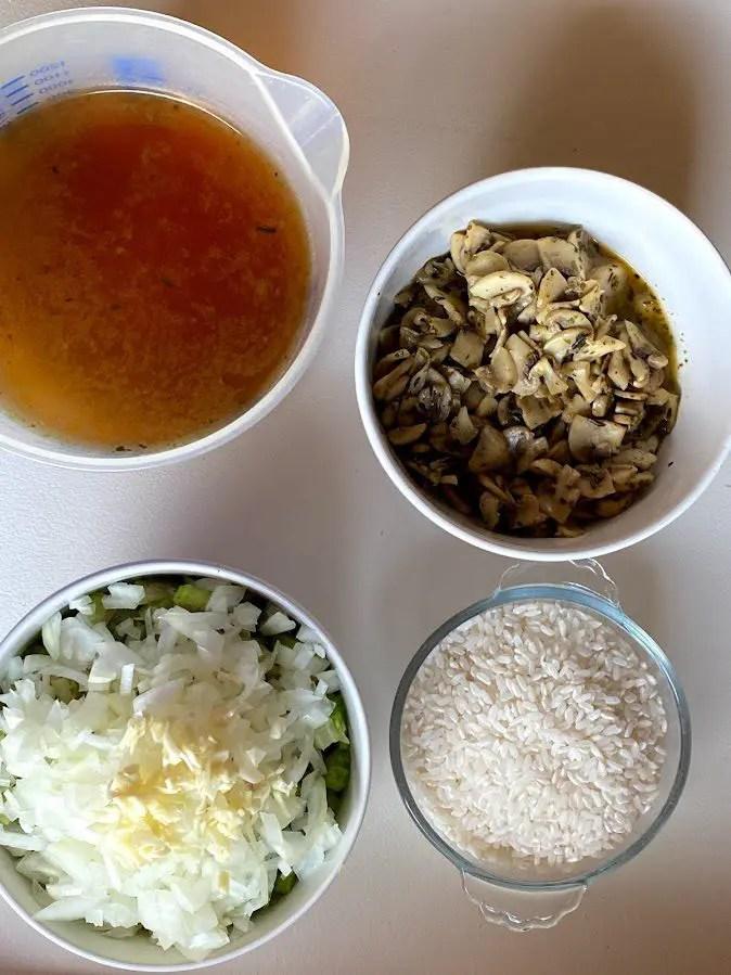 risotto recept barbecue voorbereiding