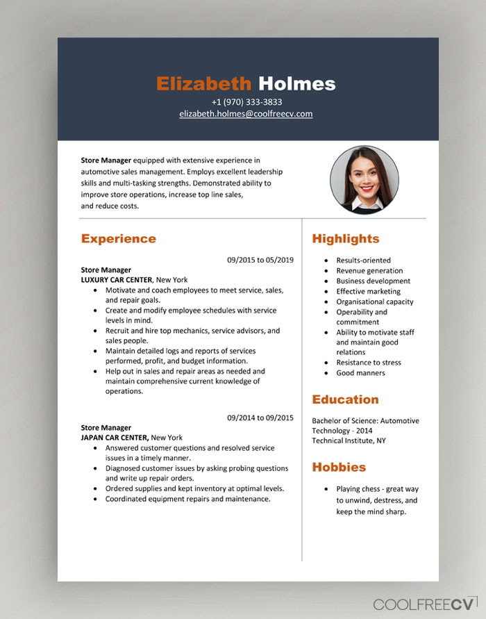 resume format choose the right resume format for your needs. Cv Resume Templates Examples Doc Word Download
