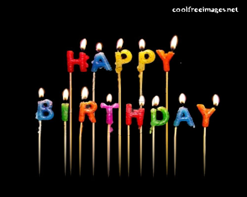 Free Orkut and My Space Happy Birthday Graphics Glitters