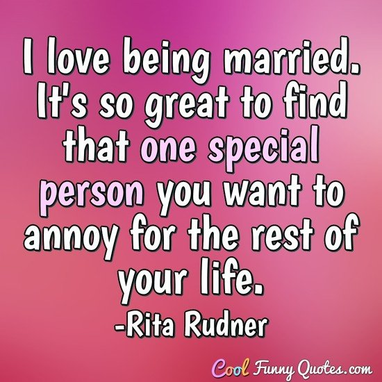 marriage quotes cool funny