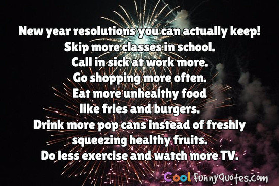 New Year Resolutions You Can Actually Keep U003cbr U003e Skip More