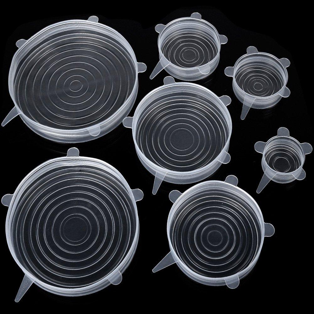 Frischhalte-Deckel - Dehnbare Allround Deckel aus Silkon