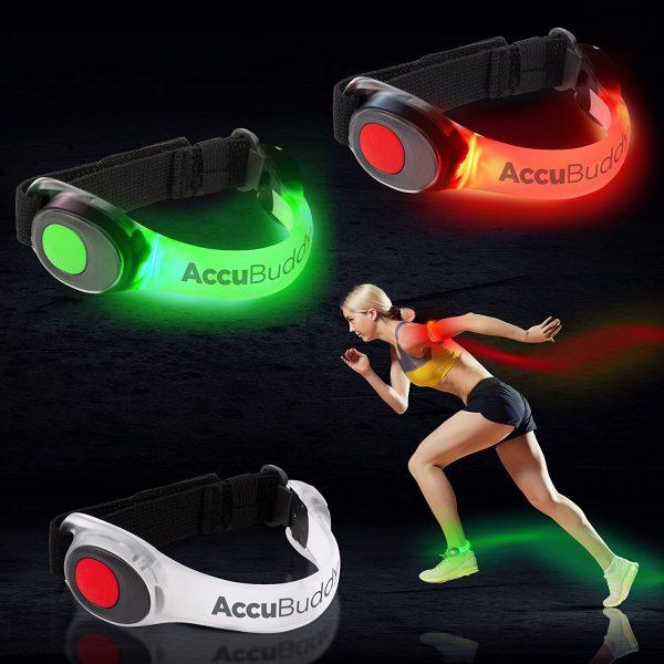 LED Armband für sicheres Joggen bei Nacht 3