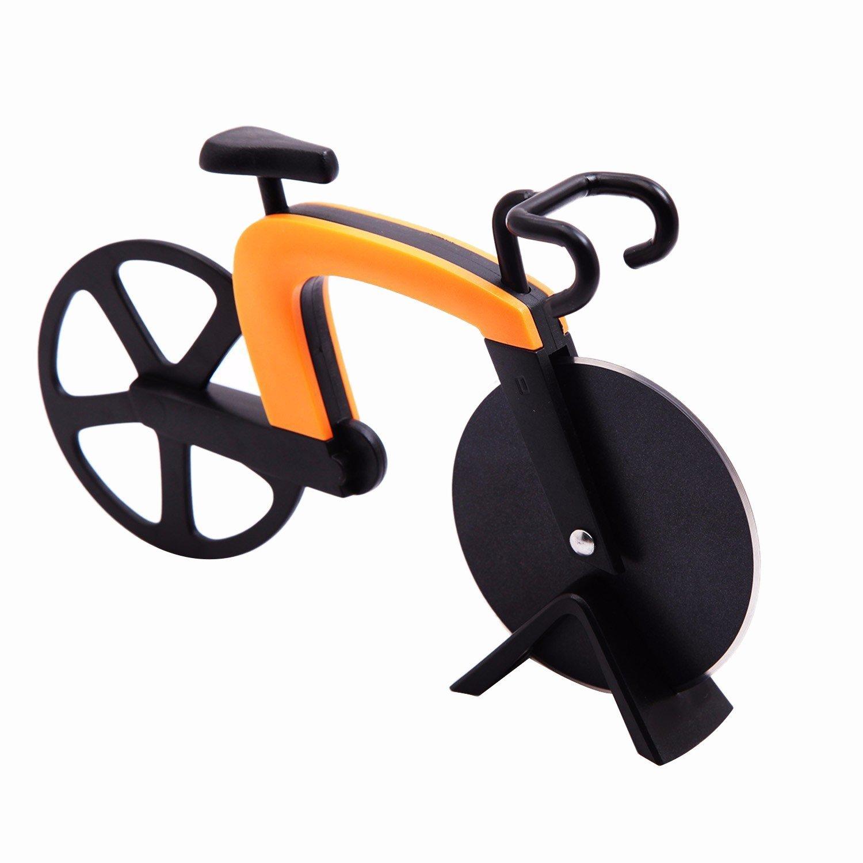Pizzaschneider im Fahrrad Design Küchen Haushalts Gadget 1