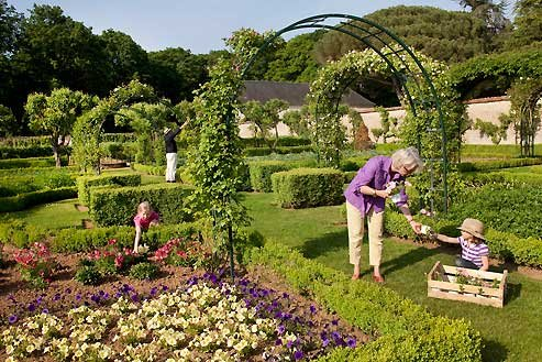home gardening ideas country