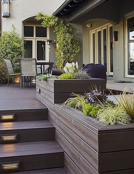 types of planters for your patio