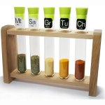 Test Tube Science Chemistry Spice Rack