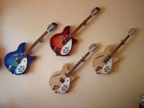 Guitar Wall Hangers For Acoustic Amp Electric Guitars