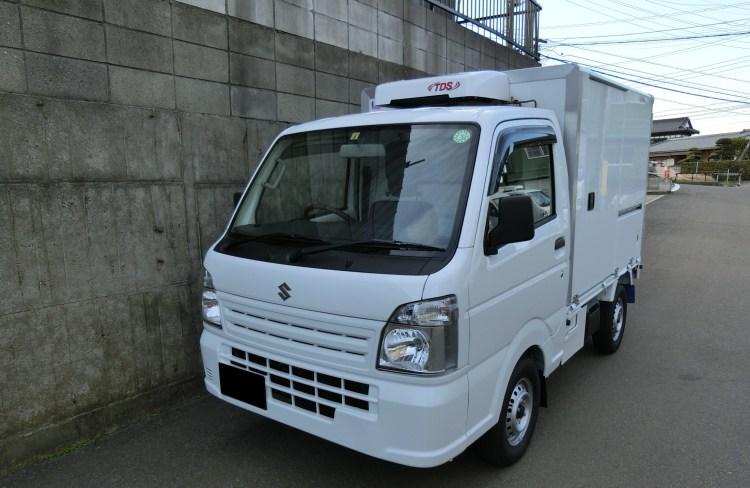 強中温冷凍車
