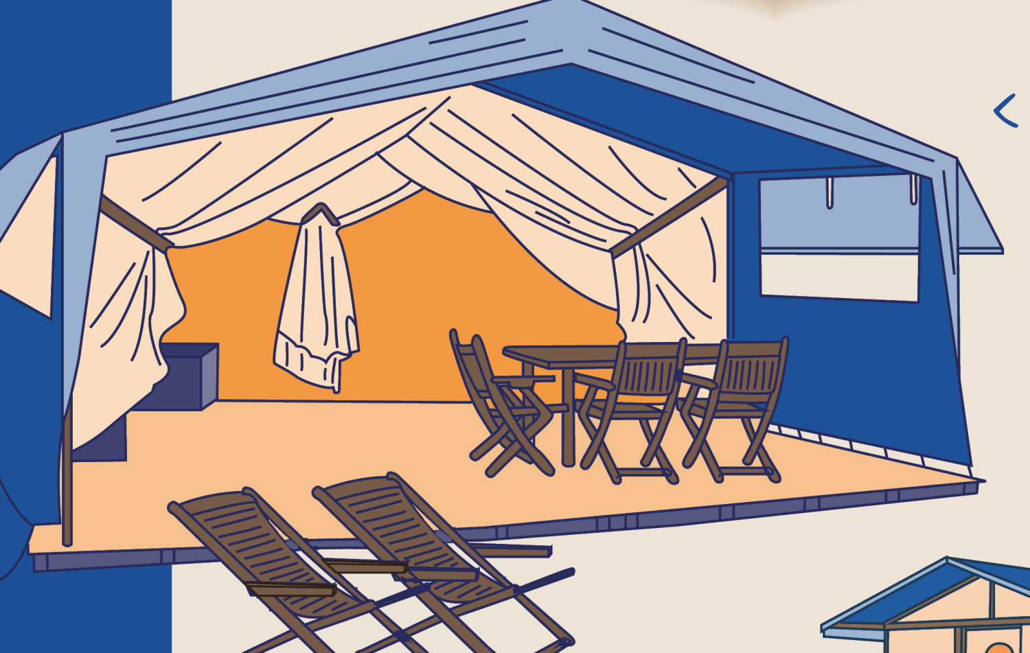 Infographic Wat is glamping?