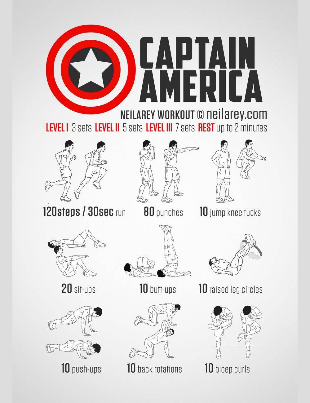 Superhelden workouts