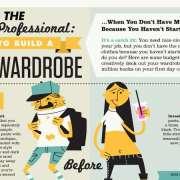 Infographic thumbnail het kiezen van een kledingstijl voor op werk