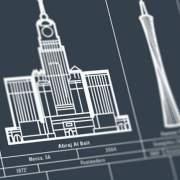 110 beroemde grote gebouwen en kunstwerken