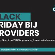 Thumbnail Black friday bij providers