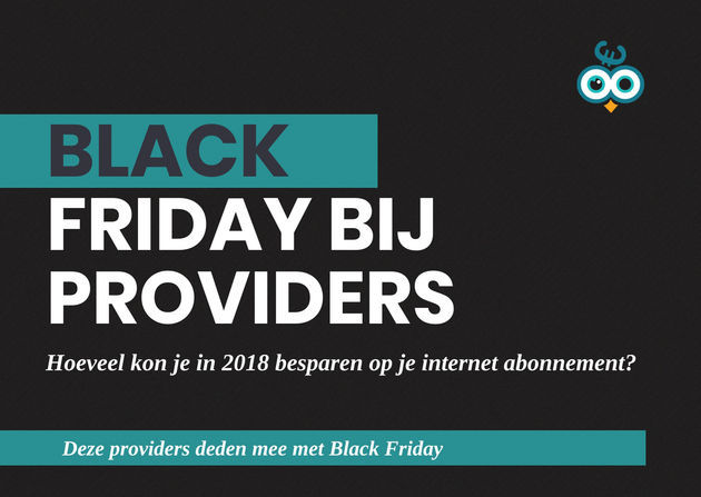 Thumbnail Black friday bij providers