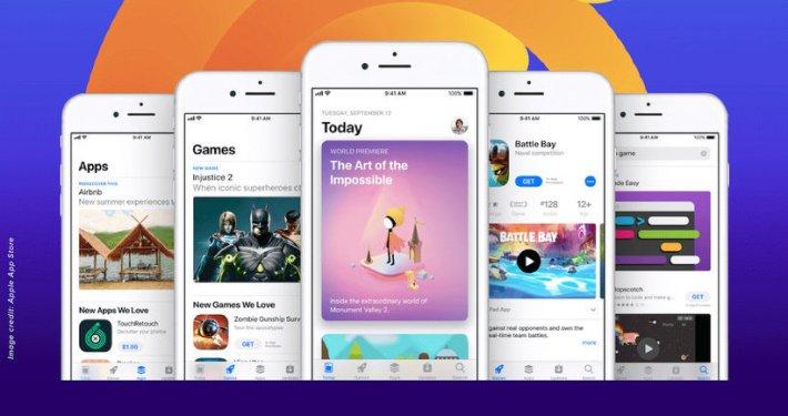 Thumbnail optimalisatie van de App Store