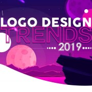 Infographic logo design trends voor 2019