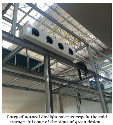 A Few Important Aspects Of Modern Cold Storage Design