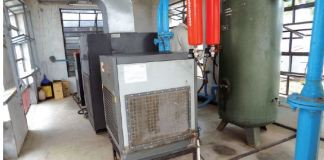 Screw Air Compressor Heat Exchanger