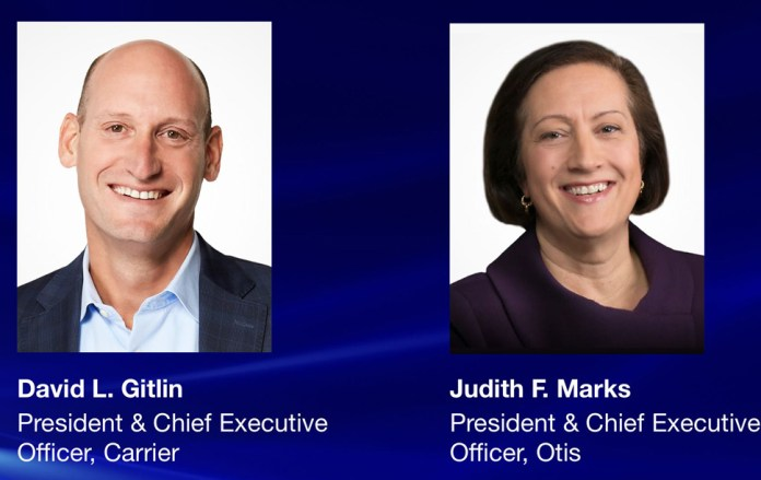 United Technologies Appoints CEOs for Carrier and Otis