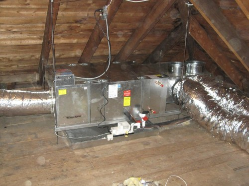 small resolution of unico high velocity attic ac system